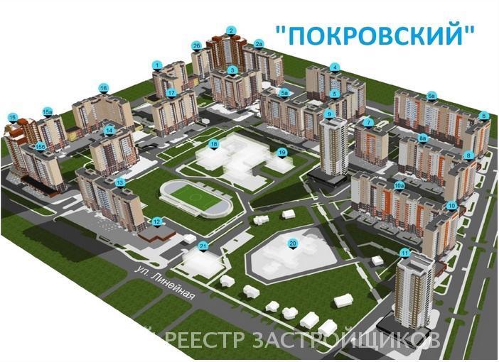 ЖК В мкр. Покровский