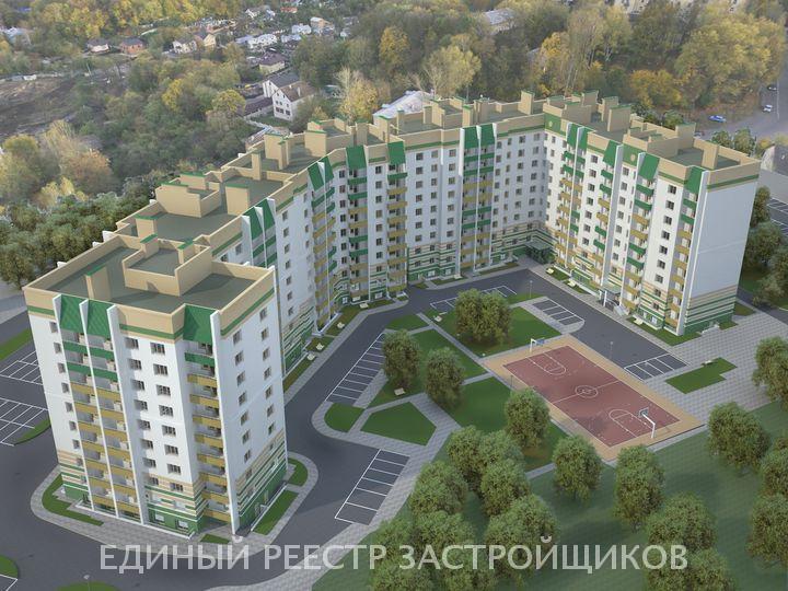 ЖК Многосекционный дом на улице Спартака